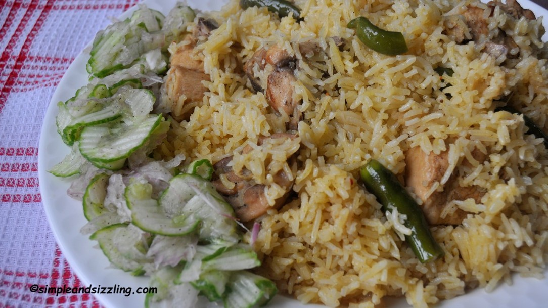 Bangladeshi chicken tehari simple sizzling recipes forumfinder Image collections